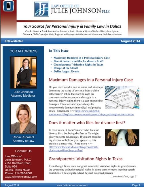 August 2014 eNewsletter